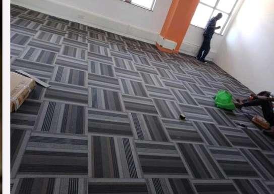 Executive carpet tiles