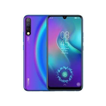 "Tecno Camon 12 Pro - 6.4"",64GB+6GB,32MP 16MP+2MP+8MP Triple Rear Camera,Dual SIM - Blue image 1"
