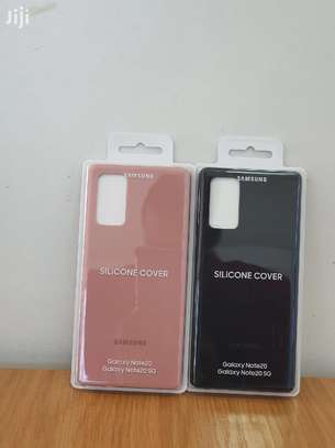 Silicone case with Soft Touch for Samsung Note 20 Note 20 Ultra image 7
