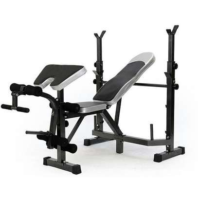 Work out bench with Incline