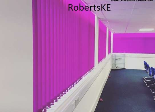 purple office blind image 1