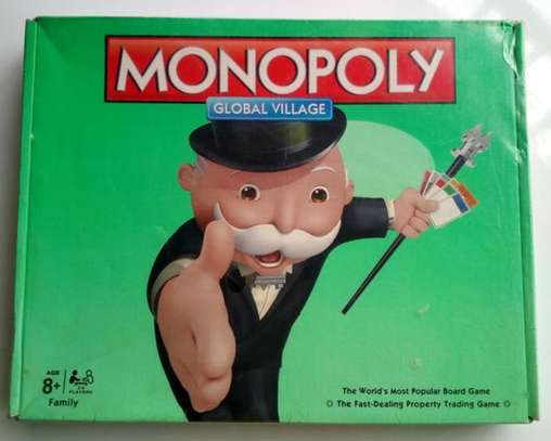 Monopoly Global Family Game Board Toys & Games - Small