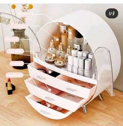 Round cosmetic organizer image 3