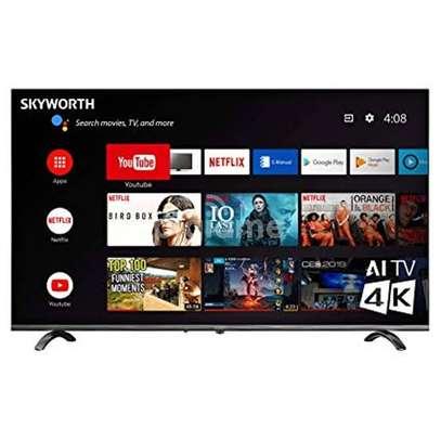 Skyworth 50 inch android smart digital 4K frameless tvs image 1
