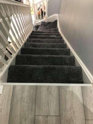 Charcoal grey wall to wall carpets image 13