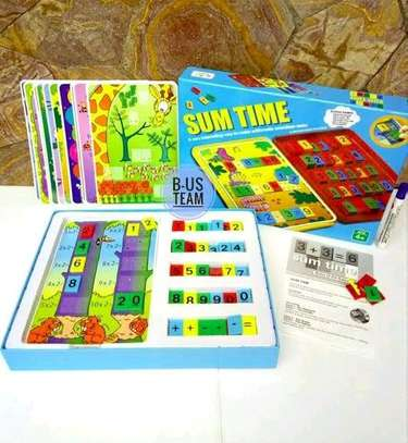 Sum time board game for kids