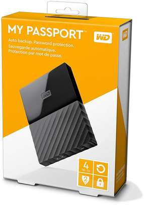 WD 4TB My Passport USB 3.0 External Hard Drive image 3