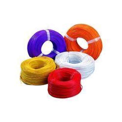 All types of electrical cables