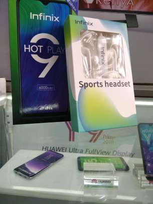 Infinix Hot 9 Play 64GB brand new and sealed in a shop.