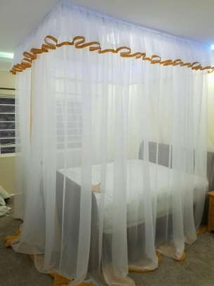Custom Made Rail Shears Mosquito Nets