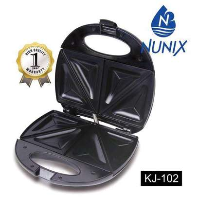 Nunix KJ-102 Sandwich Maker - Black image 1