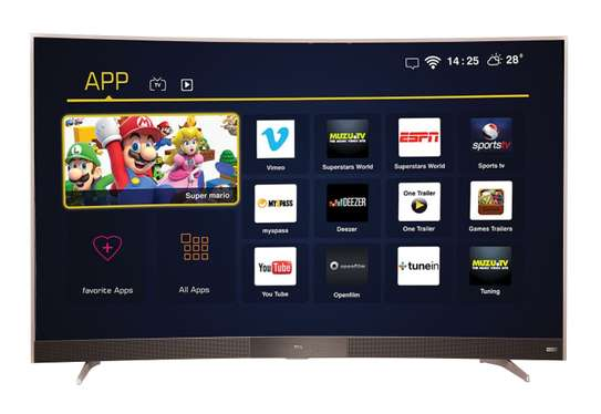 tcl 55 curved smart digital tv
