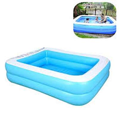 Inflatable kids swimming pool image 2