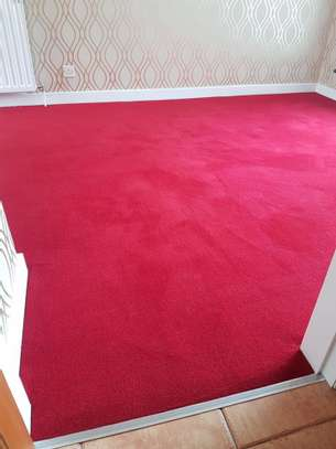 Machine made high quality red carpets image 4