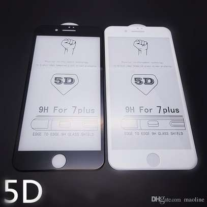 5D Full Coverage Tempered Glass Screen Protector for iPhone 6+ and iPhone 6s Plus image 4