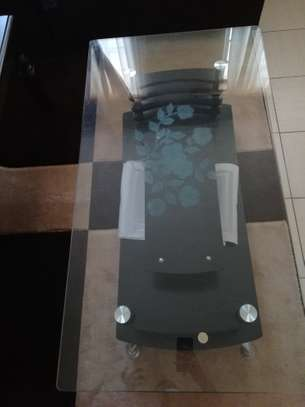 Tempered glass table image 2