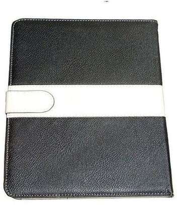 Samsung Logo Leather Book Cover Case With In-Pouch For Samsung Tab A 10.1 2019 image 2