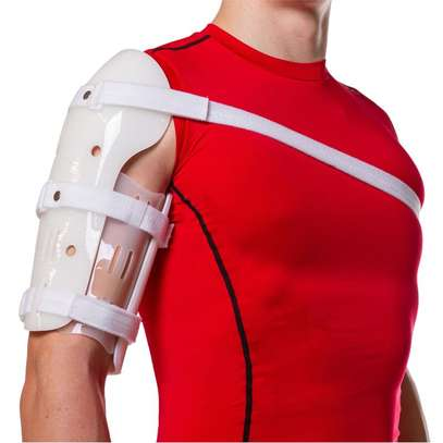 Sarmiento Brace | Humeral Fracture Splint - Over The Shoulder Extended Humeral Fracture Orthosis image 2