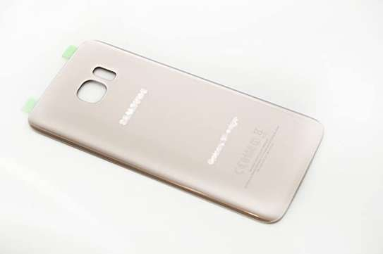 Battery Cover Replacement Back Door Housing Case For Samsung Galaxy S7 Edge image 3