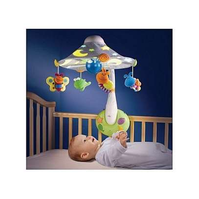 The First Years Nature Sensations Dreams In Sight Mobile with Remote Control-Baby Cot/Crib Toys image 1