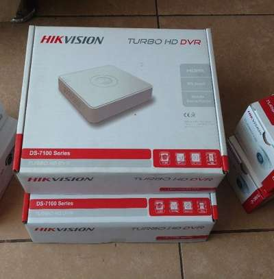HIKVISION TURBO HD 4 CHANNEL DVR 7104 WHITE