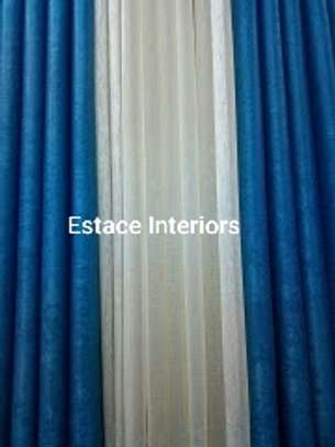 BLUE CURTAINS image 1
