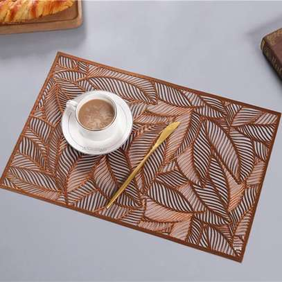 Classy PVC Non-Wooven Table Mats