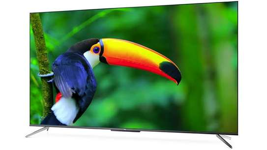 Syinix 55 inches Frameless Android UHD-4K Smart Digital TVs image 1