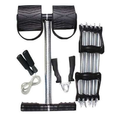 Generic 4 in 1 Way Training Set with tummy trimmer