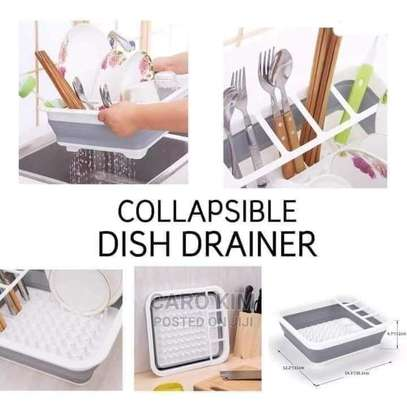 Silicon Collapsible Dish Drainer image 1