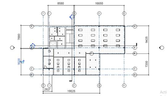 Office building plan image 4