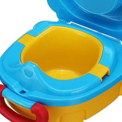 Portable Travel Potty Toilet Carry Seat Chair Toilet for Kids Baby Training image 3