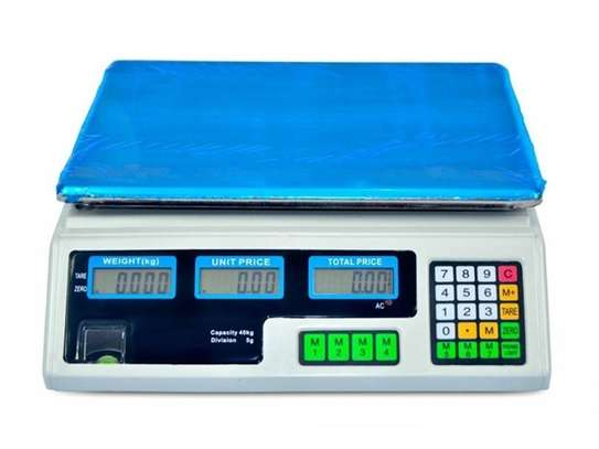 Commercial Scale 40kg 2 IN 1 with Rechargeable battery