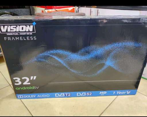 Vision 32inches,smart android frameless image 1