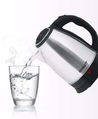 Cordless Electric Kettle - 2.0L - Silver image 3