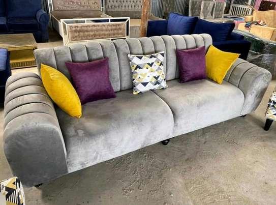 5 seater fancy sofa image 1