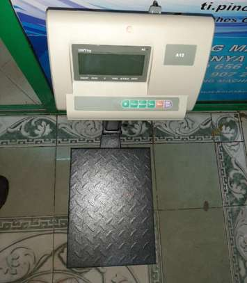 Digital weighing scales A12 image 1