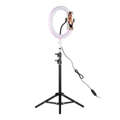 10inch Dimmable 3 Modes LED Bulb Selfie Ring Light image 1