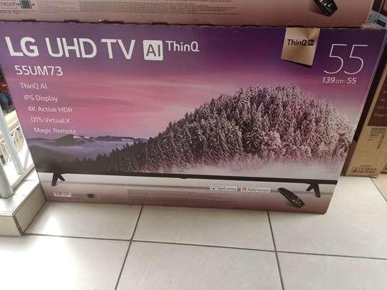 lg 55 smart digital 4k tv model um74 image 1