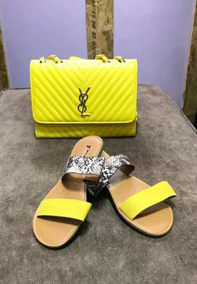 Sling Bag And Sandals