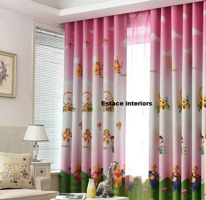 Cartooned curtains image 3