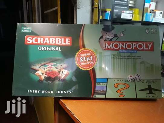 Scrabble and monopoly games