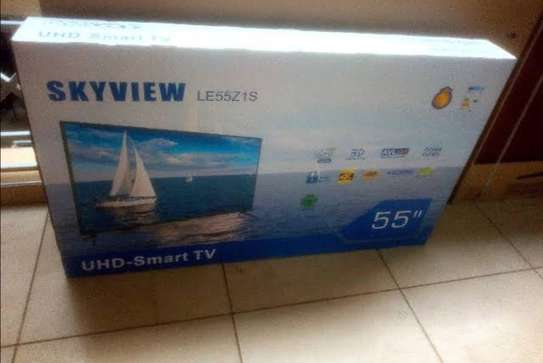 Skyview 55″ Smart UHD LED TV-Black image 2