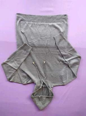 Gray hooded sweaters image 1