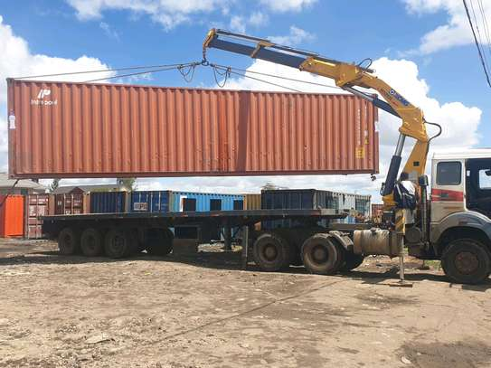 Container transport and offloading services image 2