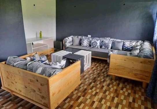 wooden sofa sets image 2