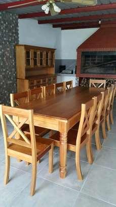Ten seater dining set image 1