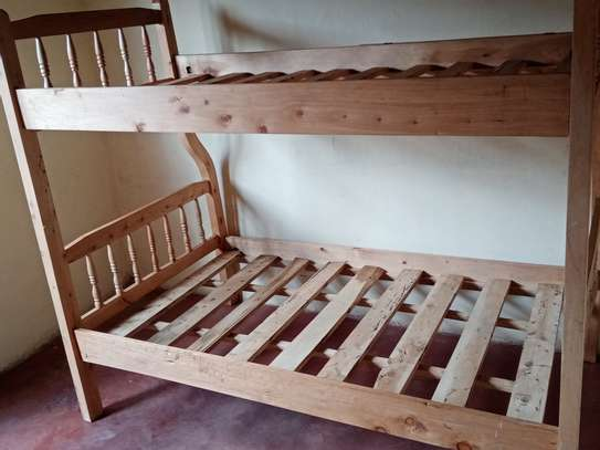 Double decker bed image 3