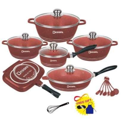 Dessini 23Pcs Granite Non-stick Cookware Sets & Frying Pan image 3