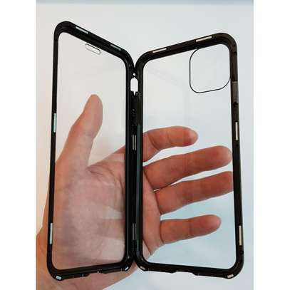 Magnetic Double-sided 360 Full Protection Glass Case for iPhone 11/11 Pro 11 Pro Max image 2